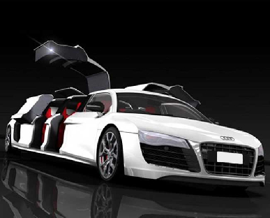 Audi R8 Limo Hire